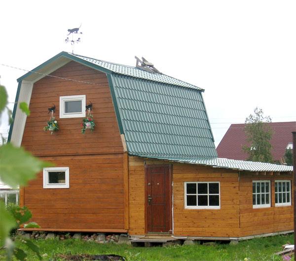 Ломаная крыша