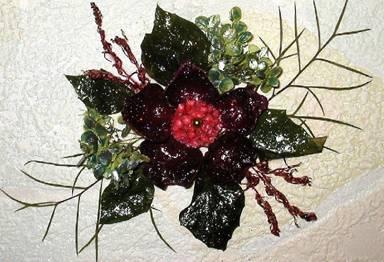 Картина из сухих листьев своими руками фото